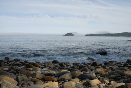 気仙大島の海の写真素材 [FYI00219363]