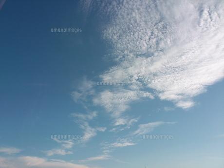 9月の空と雲の写真素材 [FYI00219668]