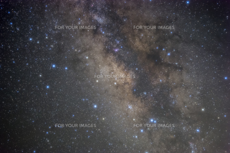 天の川の写真素材 [FYI00219953]