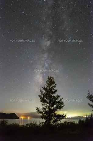 天の川の写真素材 [FYI00219954]