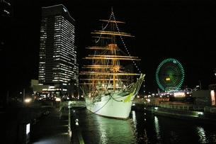 横浜:みなと未来:日本丸の写真素材 [FYI00220319]