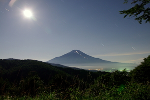 富士山:Mt.Fuji:夜景の写真素材 [FYI00220390]