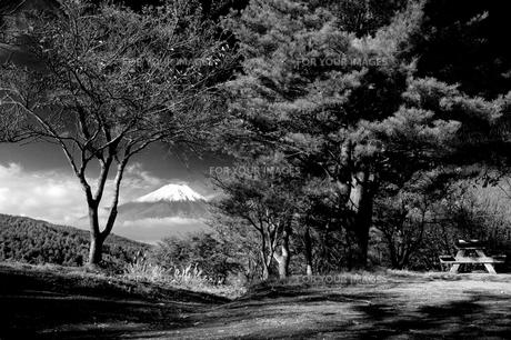 富士山:Mt.Fujiの観える風景の素材 [FYI00220433]