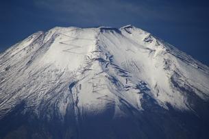 富士山:Mt.Fuji:残雪:登山道の写真素材 [FYI00220452]