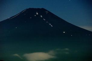 富士山:Mt.Fuji:夜景の写真素材 [FYI00220462]