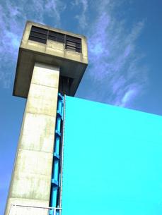 水門の監視窓の写真素材 [FYI00221045]