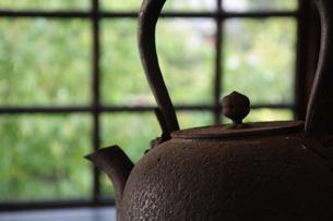 南部鉄瓶の写真素材 [FYI00221295]