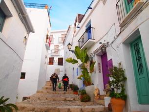スペインで最も美し村・フリヒリアナの写真素材 [FYI00221331]