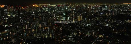 東京の夜景の写真素材 [FYI00221367]