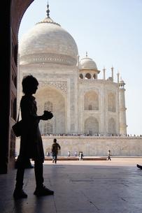 アグラ タージ・マハル  Taj Mahal Agraの写真素材 [FYI00221377]