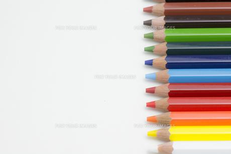 色鉛筆の写真素材 [FYI00221733]