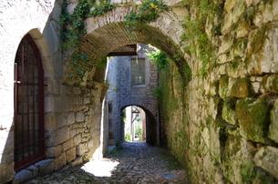 フランス、ミディピレネー地方の風景の写真素材 [FYI00221746]