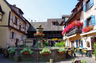 エギスハイム Eguisheimの写真素材 [FYI00221838]