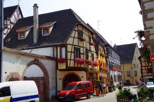 エギスハイム Eguisheimの写真素材 [FYI00221841]