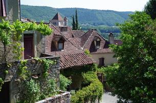サン・シル・ラポピー Saint-Cirq Lapopieの写真素材 [FYI00221875]