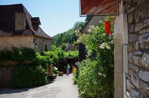 サン・シル・ラポピー Saint-Cirq Lapopieの写真素材 [FYI00221884]