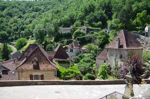サン・シル・ラポピー Saint-Cirq Lapopieの写真素材 [FYI00221890]