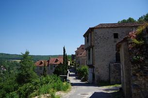 サン・シル・ラポピー Saint-Cirq Lapopieの写真素材 [FYI00221895]