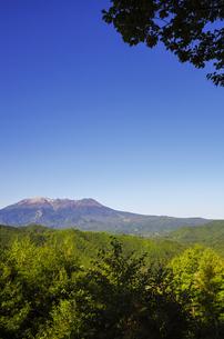地蔵峠展望台からの御嶽山の素材 [FYI00221912]