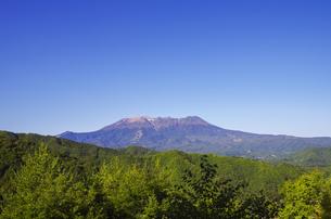 地蔵峠展望台からの御嶽山の素材 [FYI00221917]