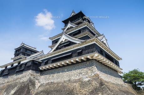 熊本城の写真素材 [FYI00221973]
