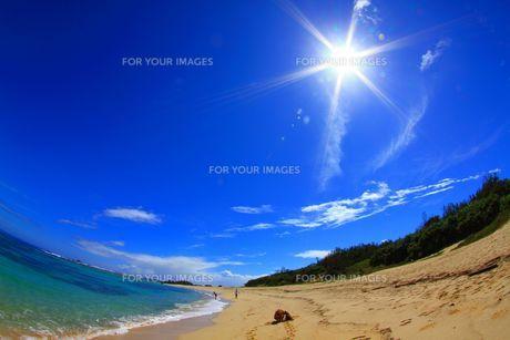南国 離島の美しいビーチの素材 [FYI00222043]