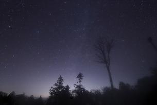 満天の星空の写真素材 [FYI00222236]