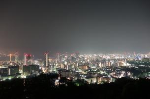 神戸ビーナスブリッジから望む夜景の写真素材 [FYI00222437]