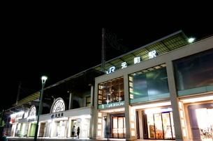 神戸夜のJR元町駅の風景の写真素材 [FYI00222451]