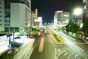神戸三宮の夜景の写真素材 [FYI00222478]