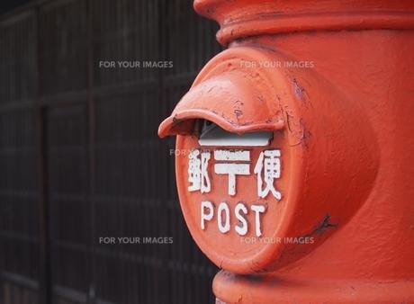 郵便ポストの素材 [FYI00222565]