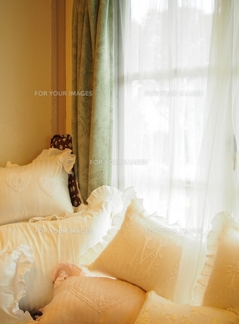 ベッドルームの写真素材 [FYI00222730]