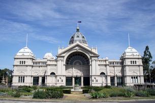 メルボルン 世界遺産王立展示館の写真素材 [FYI00222744]