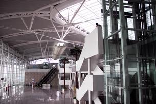 CRH中国高速鉄道駅構内・広州南駅の写真素材 [FYI00222801]