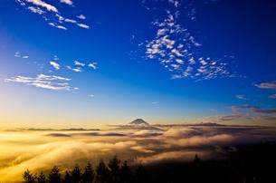 雲海と富士山の素材 [FYI00222807]