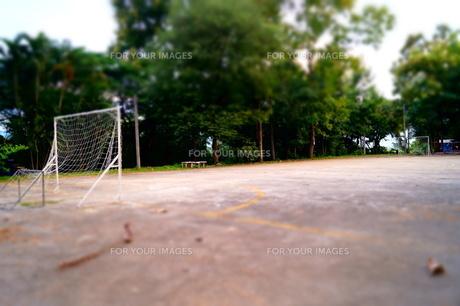 ストリートサッカーの写真素材 [FYI00222835]