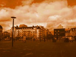 レンヌ駅前広場の写真素材 [FYI00222853]