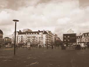 レンヌ駅前広場の写真素材 [FYI00222863]