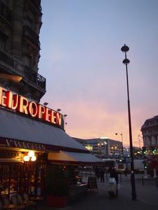 パリの夜明けの素材 [FYI00222867]