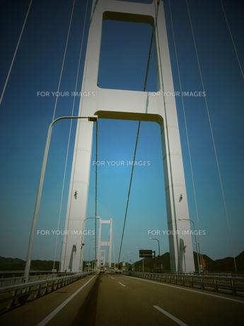 明石海峡大橋の写真素材 [FYI00222998]