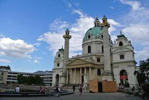ウィーンの教会の写真素材 [FYI00223427]