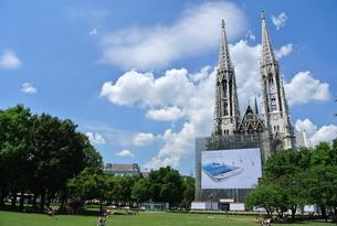 ウィーンの教会の写真素材 [FYI00223433]