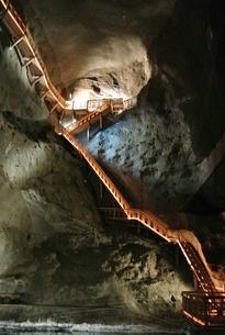 ヴィエリチカ岩塩抗の写真素材 [FYI00223466]