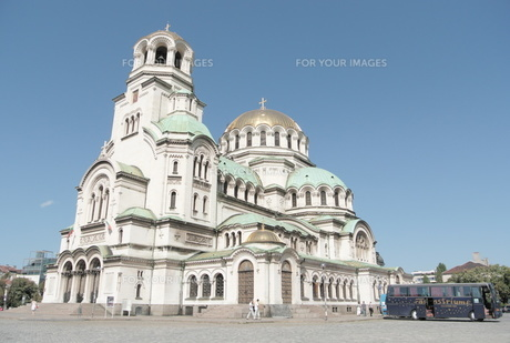 ソフィアの大聖堂の写真素材 [FYI00223508]