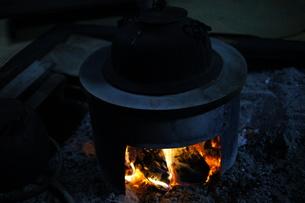 囲炉裏の素材 [FYI00223600]