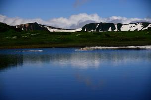 青い池、大雪山系の写真素材 [FYI00223878]