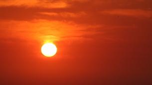 燃える日の丸の写真素材 [FYI00224045]