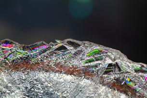 氷の作る色彩の素材 [FYI00224142]