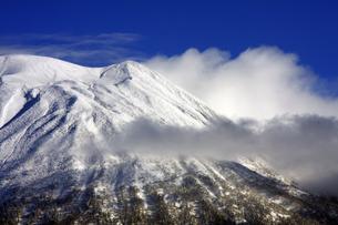 冬の羊蹄山の素材 [FYI00224184]