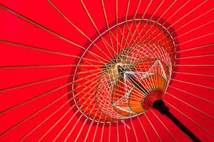 蛇の目傘の写真素材 [FYI00224335]